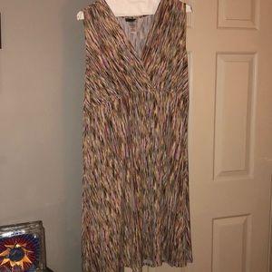 JMS sleeves Midi Dress. 2xl